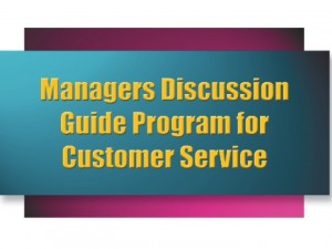 Managers Discussion Guide Program